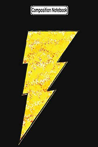 Composition Notebook: Shazam - dc spray paint Journal Notebook Blank Lined Ruled 6x9 100 Pages