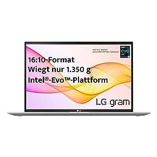 """LG gram 17 Zoll Ultralight Notebook 2021 Edition - 1,35 kg leichter Intel Core i7 Laptop (16GB LPDDR4, 512GB SSD, 19,5 h Akkulaufzeit, WQXGA IPS Display, Thunderbolt 4, Windows 10 Home) - Silber"" (B08VCCX7HF) | Amazon price tracker / tracking, Amazon price history charts, Amazon price watches, Amazon price drop alerts"