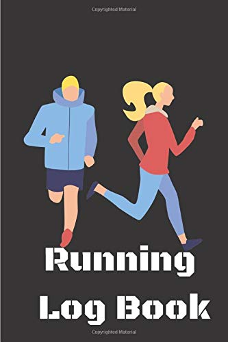 Running Log Book | 4: Running journal | Runners Training | Log book |Running Diary |  Running Logs | Track Distance | Time | Speed and Pace | Weather | Calories | Heart Rate |size 9x6 | 105 pages