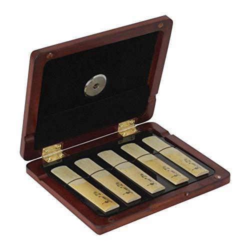 Rico tas voor verschillende instrumenten met vochtcontrolesysteem voor alle klarinetten en saxofoons.
