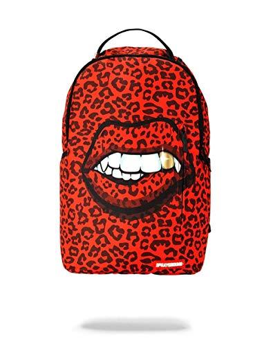 SPRAYGROUND BACKPACK RED LEOPARD LIPS