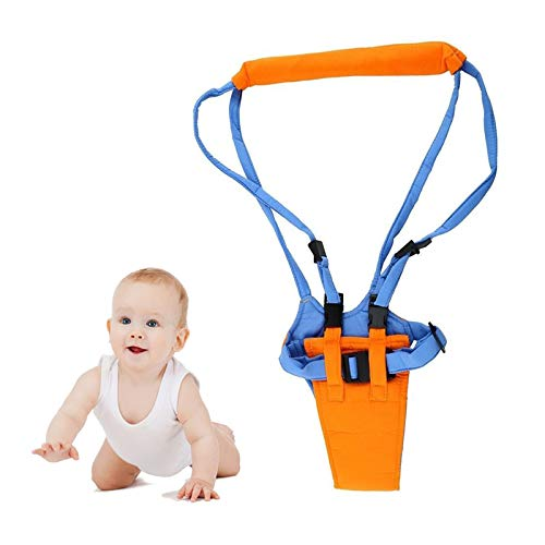Transporte para bebés, cinturón de ala para caminar, asistente para caminar, arnés de seguridad, correa, arnés, saltador, puente para aprender a caminar por la luna, asistencia