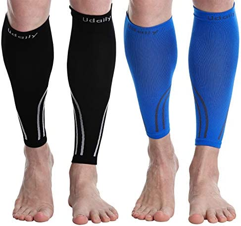 Udaily Calf Compression Sleeves for Men Women 20 30mmhg Calf Support Leg Compression Socks for product image