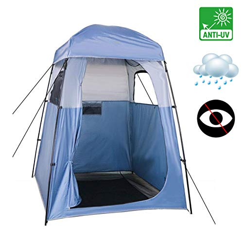 XUENUO Outdoor Pop Up Privacy Shower Tent, Portable Instant for Camping Toilet, Shower Dressing Privacy Space Room Caravan Picnic Fishing Beach Changing Room Shelter Canopy