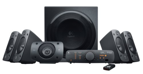Logitech - Z906 - Sistema de Audio Surround Sound 5.1 - Negro
