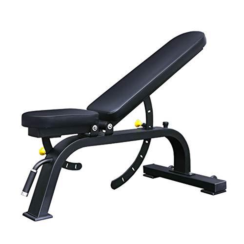 Banco de Pesas multifuncion Con Rodillo de entrenamiento ajustable Utilidad de pesas Cama for Piso ejercicio de entrenamiento de cuerpo completo, Encuadre de cuerpo en posición vertical, inclinado, de