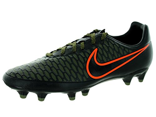 Nike Men's Magista Onda Fg Black/Black/Rgh Grn/Hypr Crmsn Soccer Cleat 8.5 Men US