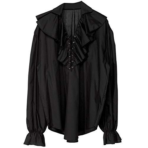 Widmann - Cs924188 - Chemise Epoque Homme Noire Taille M/l