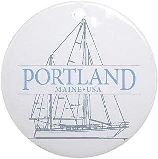 Enidgunter Portland Maine - Ornament - Round Holiday Christmas Ornament