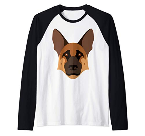Underdogs German Shepherd mask Shirt - Women Kids Men Gifts Camiseta Manga Raglan