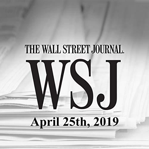 April 25, 2019 audiobook cover art
