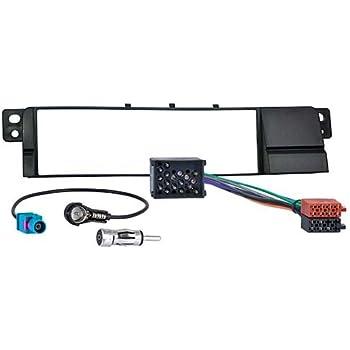 Meins24 10515201 Car Radio Fascia Adaptor Connector Antenna Din Auto