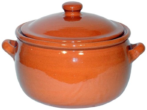 Amazing Cookware - Pentola in Terracotta, 5 l