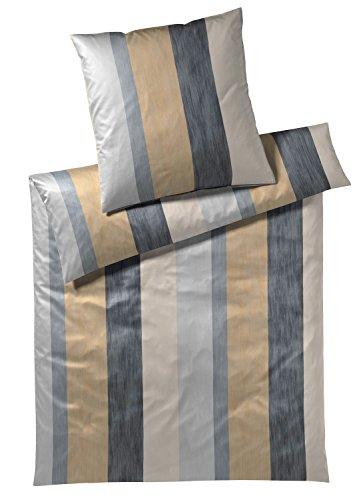 Joop! Bettwäsche Glance Gold-Black 1 Bettbezug 135x200 cm + 1 Kissenbezug 80x80 cm