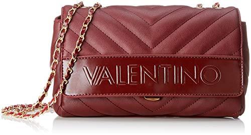 Mario Valentino VBS0WO04 - Bolso de hombro de Poliuretano Mujer, color Rojo,...