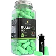 Ear Plugs for Sleeping Block Out Snoring, Premium Thermo Foam Noise Reduction and Cancelling Earplugs for Shooting Range Sleep Loud Events Construction Work Study by Jourdak New SNR 36db 60Pair
