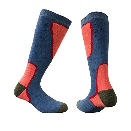 i-Smalls Damen Packung mit 1 Thermal Ski Snowboard Socken (35-41) Blau