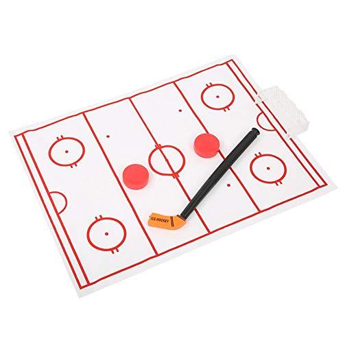 Zerodis WC Hockey Spiel Eishockey Fun Stress Angst Relief Toy Sportanzug für Erwachsene Kinder Kinder