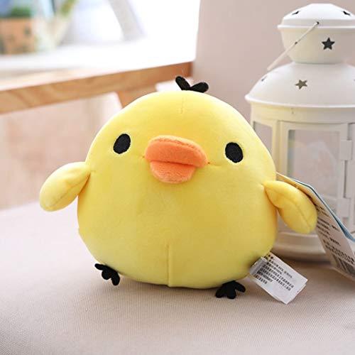Peluches 20cm Muñeco De Peluche Juguetes De Peluche Almohada Suave Anime Pollo Amarillo Dibujos Animados Animales Regalos para Novia