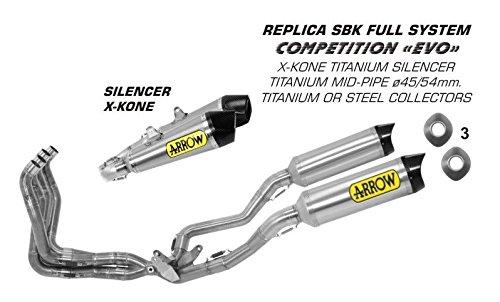 Kit completo Arrow Competition evo Suzuki GSX-R 1000 i.e. 2009-2011