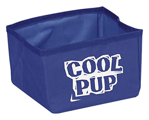 Cool Pup - Cuenco portátil para Perro, Color Azul