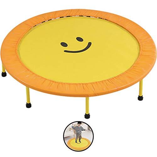 Indoortrampoline Trampolin Start Bouncer Startseite Kinder Trampolin Kleines Indoor Trampolin Baby-Trampolin Indoor Trampolin Baby-Trampolin (Color : Yellow, Size : 120 * 120cm)