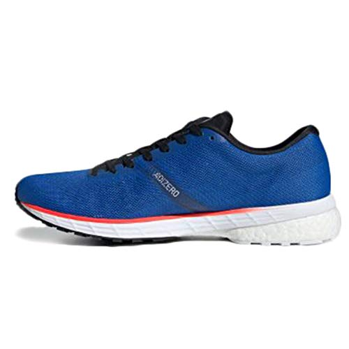 adidas Men's Competition Running Shoes, Glory Blue FTWR White Solar Red, 9