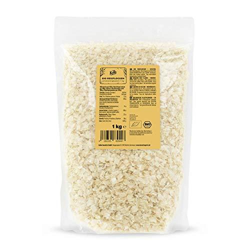 KoRo - Bio Reisflocken 1 kg - glutenfreie Alternative zu Haferflocken