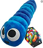 Slither.io 8' Bendable Plush Toy with tag - Blue color