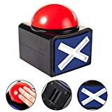 Juego Buzzer-Kids Caja de botones de respuesta juego para adultos,Broma Aliviar el estrés Juego Respuesta Buzzer Sound Light Alarm Button Quiz Fun