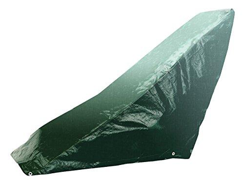 Royal Gardineer Rasenmäher Abdeckung: Gewebe-Abdeckplane für Rasenmäher, 97 x 103 x 50 cm, 110 g/m² (Schutzhülle Rasenmäher)