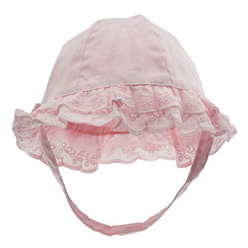 Happy Cherry - Niñas Sombrero de Pescador con ala para Bebé Niños Verano Gorro de Playa Protección Sol Infantil Primavera Bucket Hat Lindo para Viajes Al Aire Libre