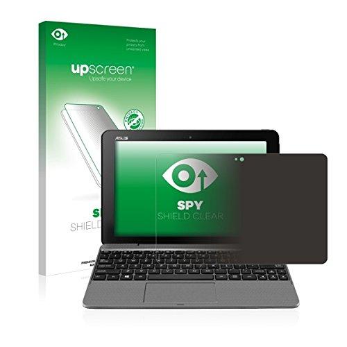 upscreen Spy Shield Clear Blickschutzfolie / Privacy für Asus Transformer Book T101 (Sichtschutz ab 30°, Kratzschutz, selbstklebend)
