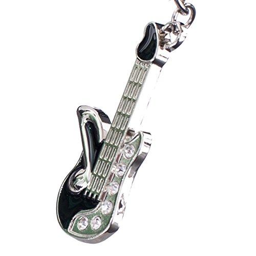 """nanomondo Schlüsselanhänger """"Gitarre"""" aus Metall N1058"""