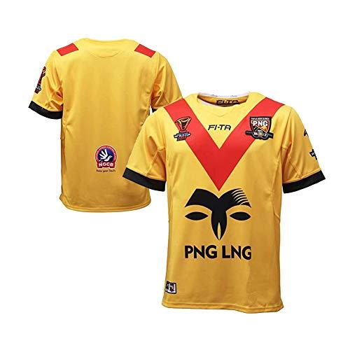 2017 Papouasie Nouvelle Guinée Rugby Jersey, World Cupr Png Rugby T-Shirt Polo, Sweat-Shirt De Fan pour Enfants/Adultes Ou Cadeau d'anniversaire-XXL