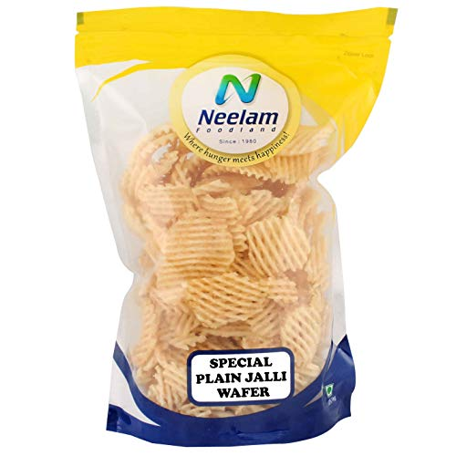 [Apply coupon] Neelam Foodland Special Plain Jalli Wafer (200G)
