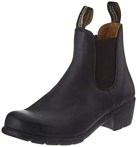 Blundstone Womens 1671 Leather Textile Black Boots 9 US