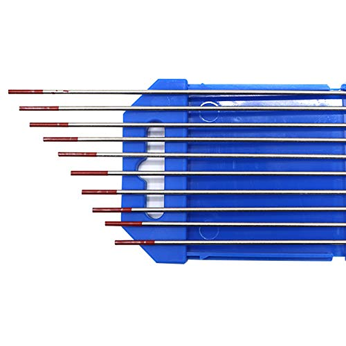 Electrodos de soldadura TIG 10X de WT20 Ø1,6mm * 175mm Elec