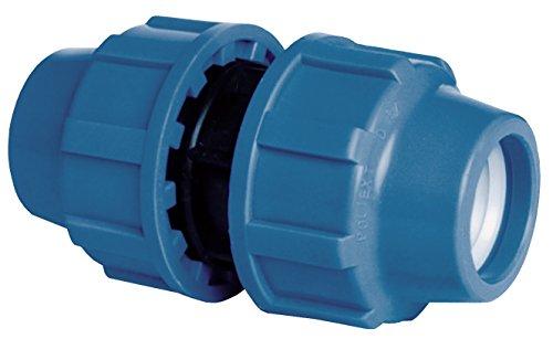 Cornat Bewässerungssystem Kupplung für PE-Rohr, Ø 32 mm, Polypropylen, für Kaltwasser