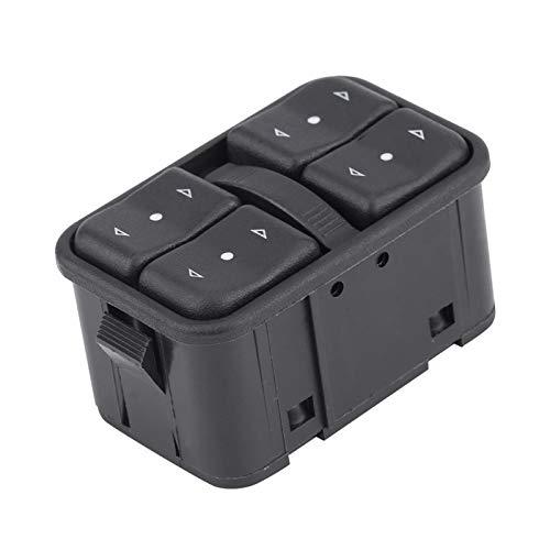Lianlili Botón de Interruptor de Control de la Ventana del Maestro de energía eléctrica del automóvil para Vauxhall Astra Zafira para Opel 90561086 Estilo de automóvil