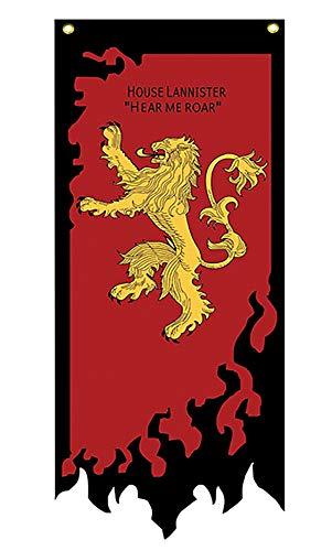 フランスベッド A Song of Ice And Fire Poster Il Trono di Spade Blu Ray Stark Bandiera