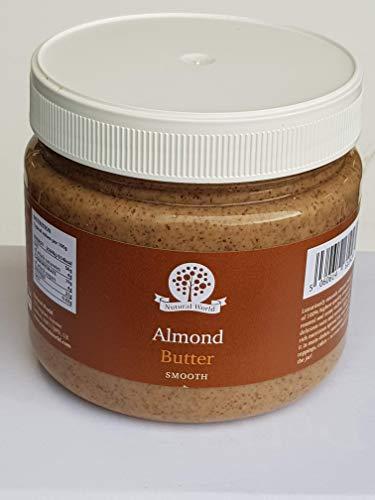 Nutural World - Beurre d'Amande onctueux (1kg) - *** nouvel emballage ***
