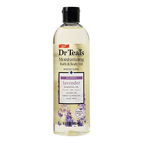 Dr Teals Body & Bath Oil With Lavender, Soothe & Sleep, 8.8 Oz.