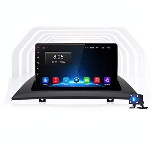 Android Car Stereo Sat Nav para B MW X3 E83 2004-2012 Unidad Principal Sistema De Navegación GPS Soporte De Pantalla Espejo Bluetooth SWC DVR Dab +