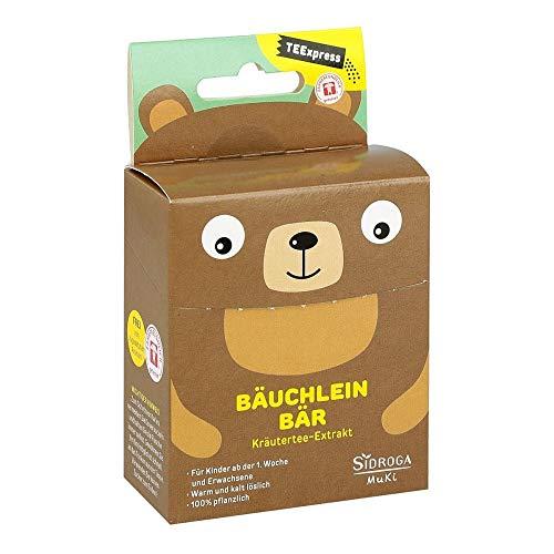 Sidroga TEExpress Bäuchlein Bär – Fenchel-Anis-Kümmel-Extrakttee für Babys, Kinder und Erwachsene – 15 Beutel à 0,3 g