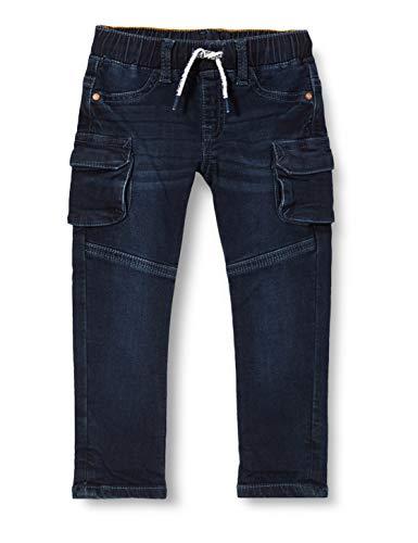 Noppies B Regular fit Pants Sterkstroom Denim Jeans, Black Blue Wash-P613, 74 cm para Bebés