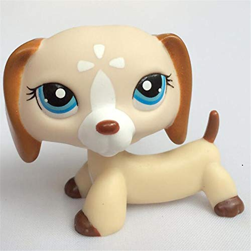 JKDC Pet Shop Toy Nuovo Pet Shop Lps Toy Action Standing Collection Capelli Corti 41 Pink Cat Big Dog Garden Dog Bassotto Lps Dog Bassotto Colli 5