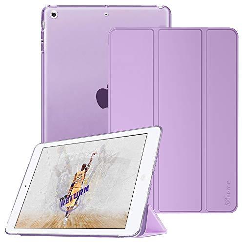 Fintie Case for iPad Mini 3/2 / 1 - Lightweight Smart Slim Shell Translucent Frosted Back Cover Protector Supports Auto Wake/Sleep for iPad Mini 1 / Mini 2 / Mini 3, Lavender Purple