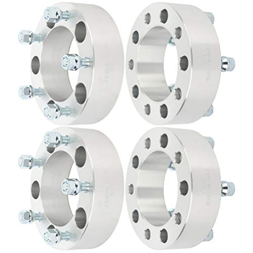 "ECCPP 4pcs 2 inch 5x5.5 to 5x5.5 Wheel Spacer Adapters 5x139.7mm 108mm fits for Dodge Ram 1500 for F-100 F-150 E-150 Econoline Bronco Suzuki Vitara CJ with 1/2"" studs"