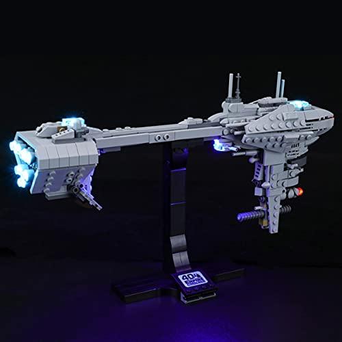 XJJY Kit de iluminación LED para Fragata Lego Star Wars NEBULON-B, Conjunto de luz LED complementos para Lego 77904 (NO Incluye EL Modelo DE Lego)